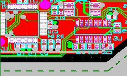 0.8 mm board thickness pcb layout design and manufacturing