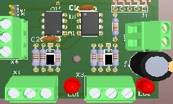 Green solder mask pcb layout design and prototype manufacturing