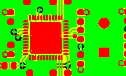 Immersion gold finish pcb layout design and prototype manufacturing