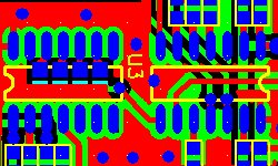 Microcontroller pcb layout design and manufacturing