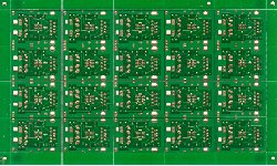 Panel with scoring pcb