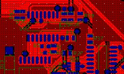 Red solder mask pcb layout design and fabrication UK