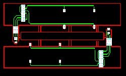 Printed circuit board layout design from electronic circuit