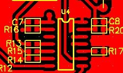 Single side printed circuit board layout design and fabrication UK