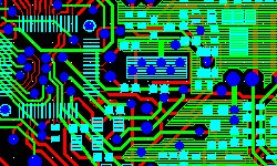 SMT components pcb layout design and assembly